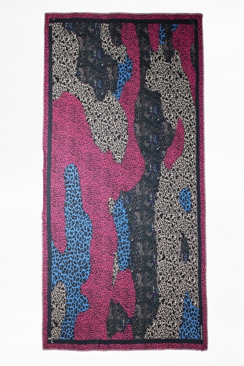 MAXY PATCHWORK CCEURS SCARF