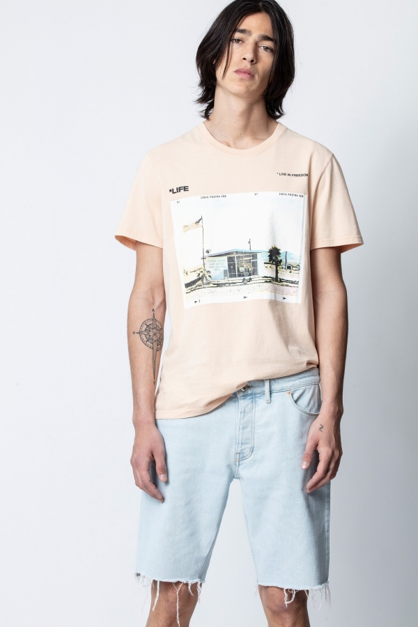 TED HC LIFE PHOTOPRINT SHORT-SLEEVE