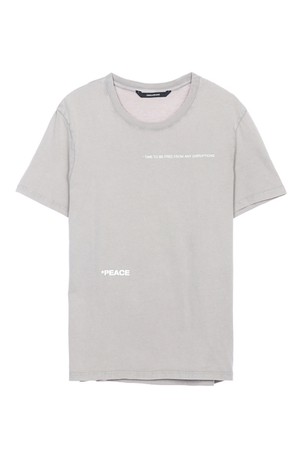 TED HC PEACE PHOTOPRINT SHORT-SLEEVE